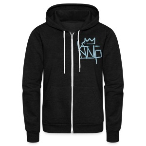 royalty king - Unisex Fleece Zip Hoodie