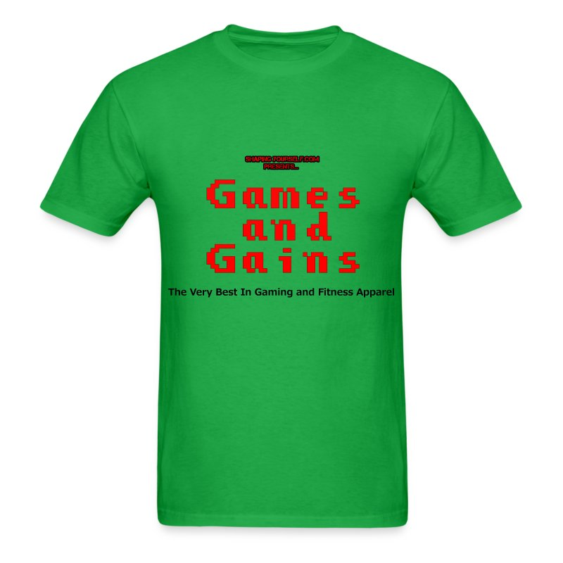 Games and Gains - Men's T-Shirt