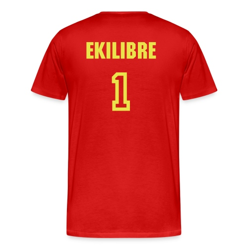 Ekilibre Varsity Red - Men's Premium T-Shirt