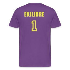 Ekilibre Varsity Purple - Men's Premium T-Shirt
