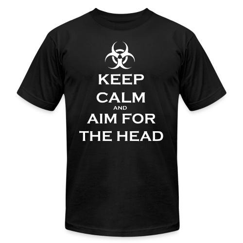 Keep Calm Zombie shirt  - Men's Fine Jersey T-Shirt