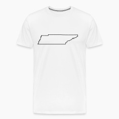 Tennessee,map,landmap,land,country,outline T-Shirts