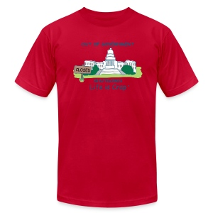 2013 Government Shutdown - Men's T-shirt by American Apparel - Men's T-Shirt by American Apparel
