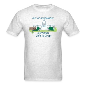 2013 Government Shutdown - Men's Classic T-shirt - Men's T-Shirt