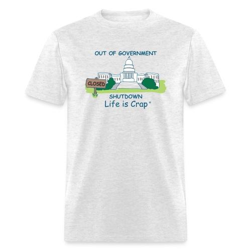 2013 Government Shutdown - Men's Classic T-shirt - Men's T-Shirt