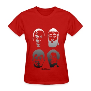 Ladies - DH, JH, JL, PB - Women's T-Shirt
