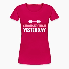 stronger than yesterday Women's T-Shirts