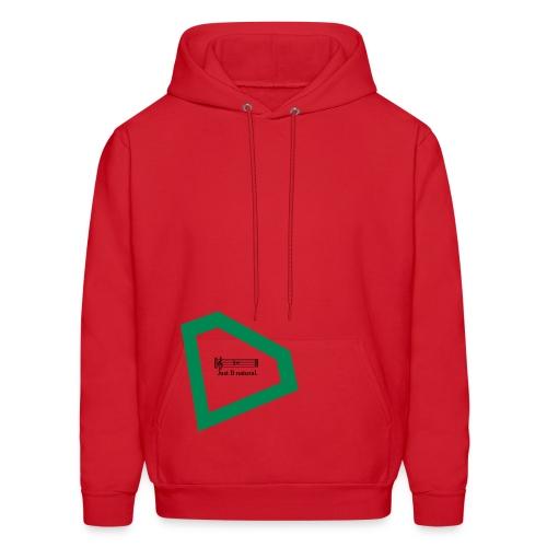 Red Music Green Diamond Hoodie - Men's Hoodie