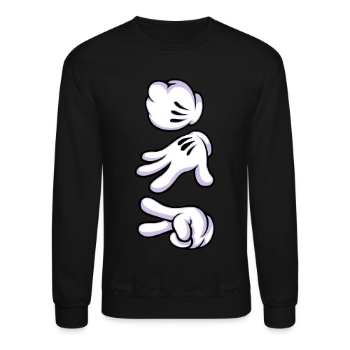 Brighten Clothing Roshambo Crewneck - Crewneck Sweatshirt