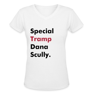 Special TRAMP Tee - Women's V-Neck T-Shirt