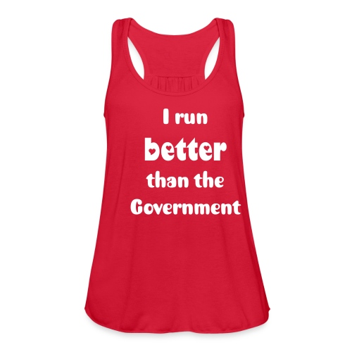 Government - Women's Flowy Tank Top by Bella