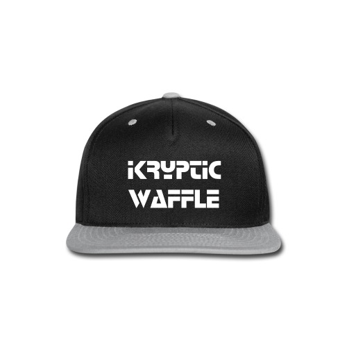Kryptic Waffle - Snap-back Baseball Cap