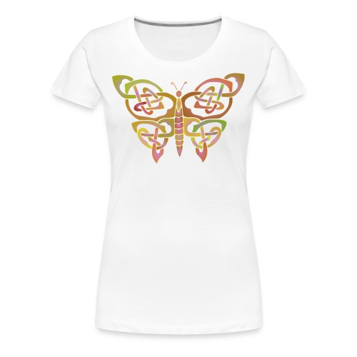 Celtic Butterfly - Women's Premium T-Shirt