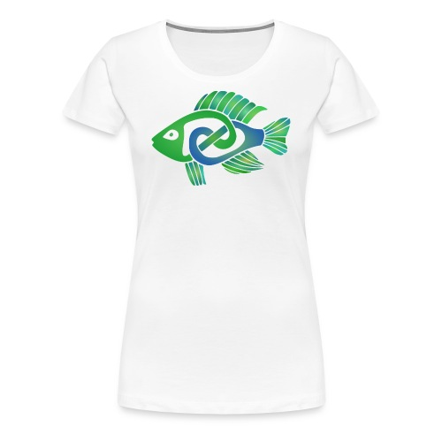 Celtic Fish - Women's Premium T-Shirt