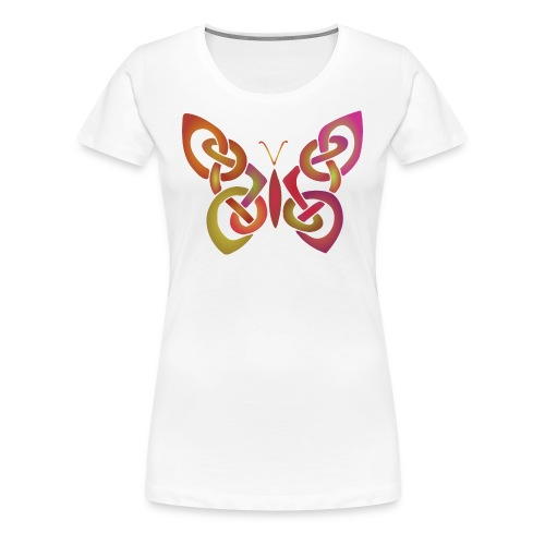 Celtic Butterfly II - Women's Premium T-Shirt