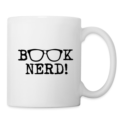 Book Nerd Mug - Coffee/Tea Mug