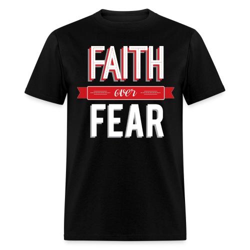 Faith is my weapon - Men's T-Shirt