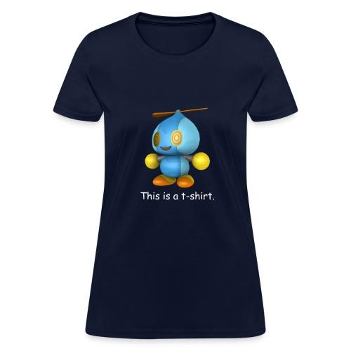 This is a t-shirt (Women) - Women's T-Shirt