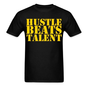 Men's Classic-cut shirt Hustle Beats Talent | Major Tees - Men's T-Shirt