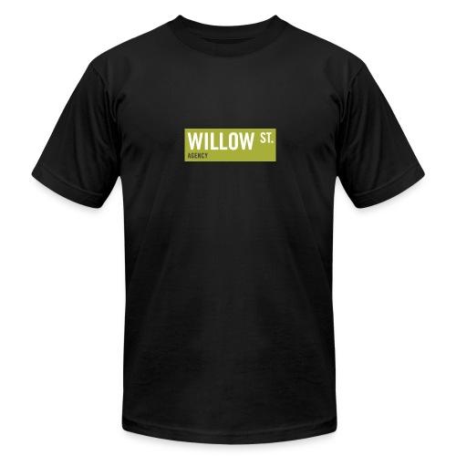 Men's Willow St. Sign - Men's  Jersey T-Shirt