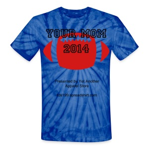 (almost) Tie-Dye T-Shirt for The BIG Game - Unisex Tie Dye T-Shirt