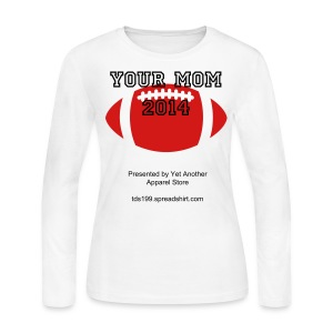 Long Sleeve T-Shirt for The BIG Game - Women's Long Sleeve Jersey T-Shirt