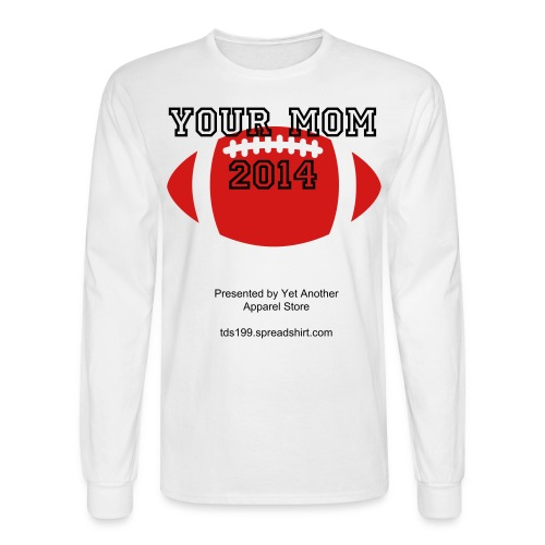 Long Sleeve T-Shirt for The BIG Game - Men's Long Sleeve T-Shirt