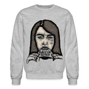 Rehab is for quitters - Crewneck Sweatshirt