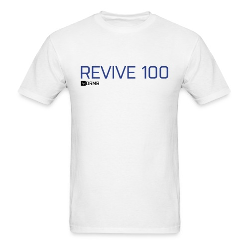 Men's Revive 100 White T-Shirt - Men's T-Shirt