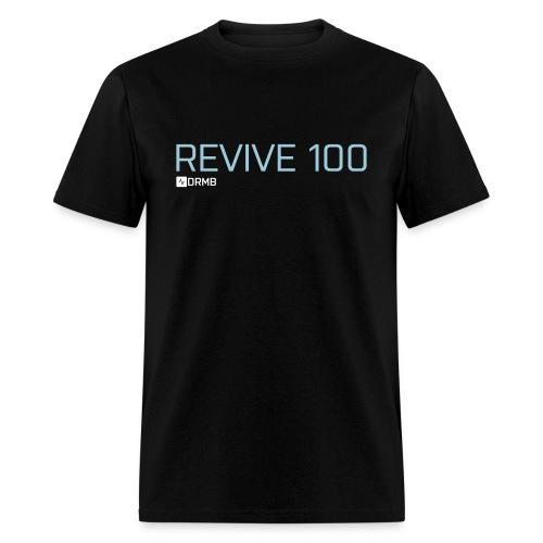 Men's Revive 100 Black T-Shirt - Men's T-Shirt