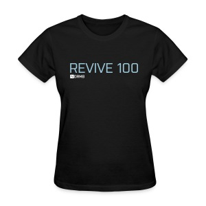 Women's Revive 100 Black T-Shirt - Women's T-Shirt