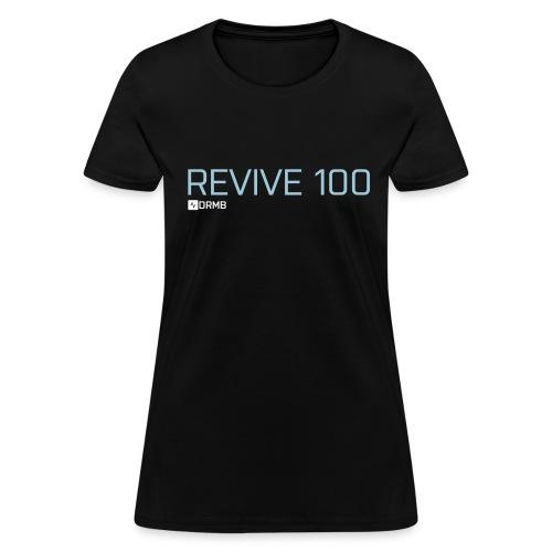 Women's Revive 100 Black T-Shirt - Women's T-Shirt