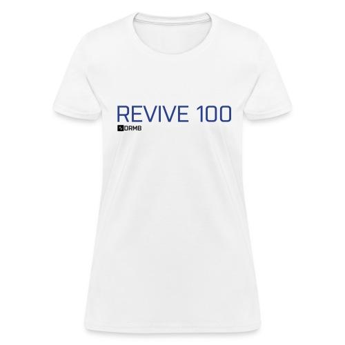 Women's Revive 100 White T-Shirt - Women's T-Shirt