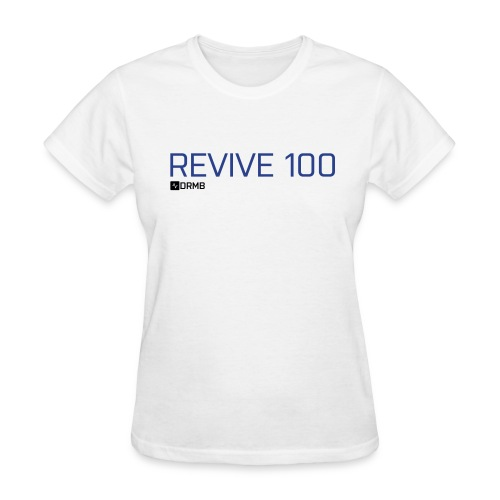 Women's Revive 100 White T-Shirt - Women's T-Shirt