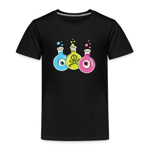 Halloween Chemistry Lab - Toddler Premium T-Shirt
