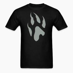Wolf/Dog Paw T-Shirts