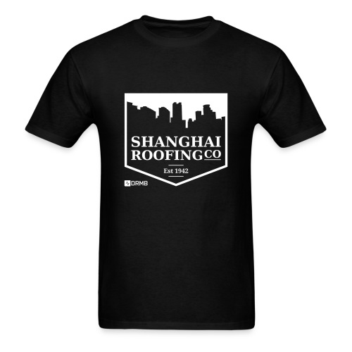 Men's Shanghai Roofing Co. Black T-Shirt - Men's T-Shirt