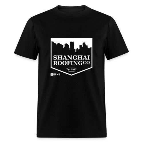 Men's Shanghai Roofing Co. Black T-Shirt - Men's T-Shirt