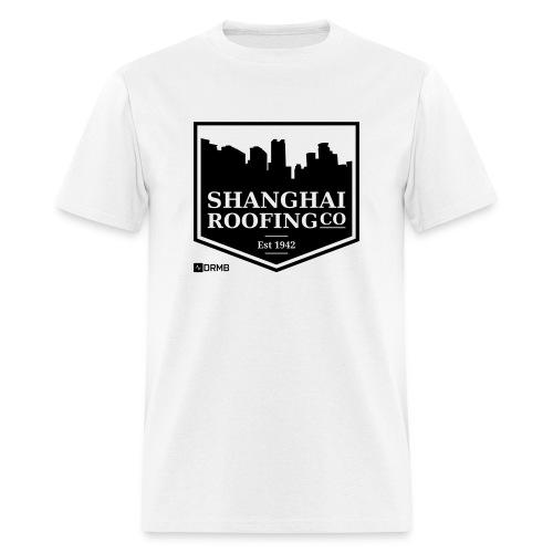 Men's Shanghai Roofing Co. White T-Shirt - Men's T-Shirt