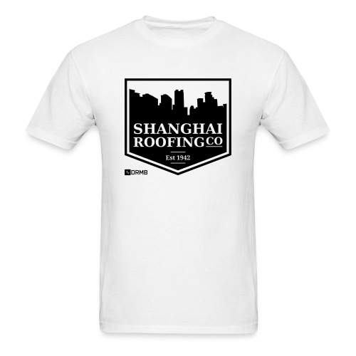 Men's Shanghai Roofing Co. White T-Shirt - Men's T-Shirt