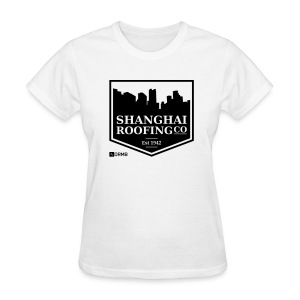 Women's Shanghai Roofing Co. White T-Shirt - Women's T-Shirt