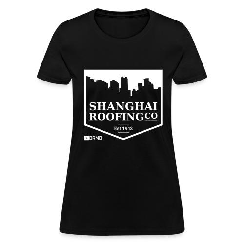 Women's Shanghai Roofing Co. Black T-Shirt - Women's T-Shirt