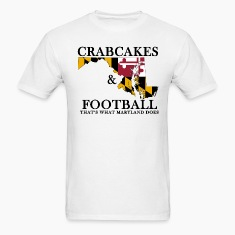 Crabcakes & Football T-Shirts