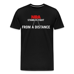 NSA Stand and Fight... From a Distance Men's Premium - Men's Premium T-Shirt