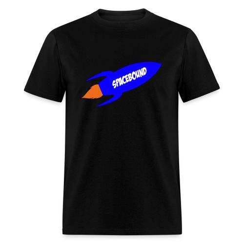 Space Bound Rocketship T-Shirt - Men's T-Shirt