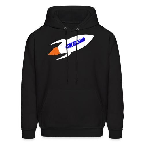 Space Bound Rocketship Hoodie - Men's Hoodie