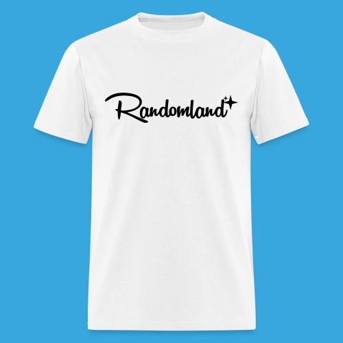 Randomland - Black Logo - Men's T-Shirt