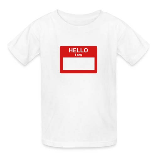 NAME TAG - Kids' T-Shirt