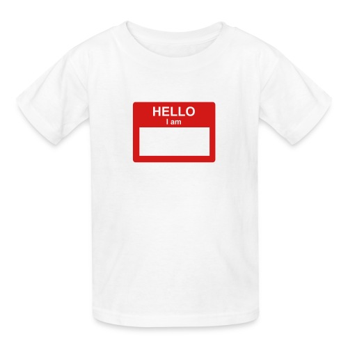NAME TAG - Kids' T-Shirt