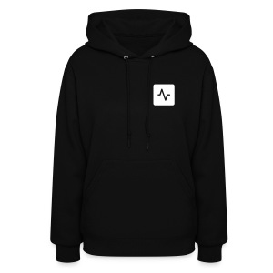 Women's DRMB Black Hooded Sweatshirt - Women's Hoodie